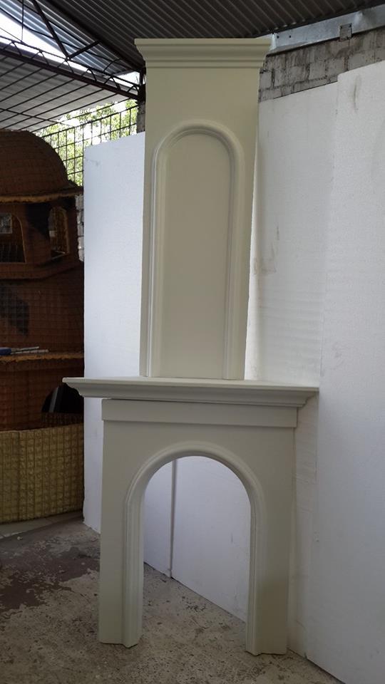Molduras deco hogar for Molduras para chimeneas