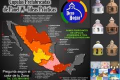 Mapa Cupulas mexico