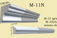 molduras m11 y m31